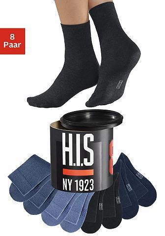 H.I.S Kojinės (8 poros) in der Geschenkdose