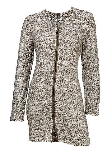 Megztas paltas su 2-Wege Zipper