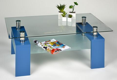 INOSIGN Kavos staliukas su stiklo plokštė