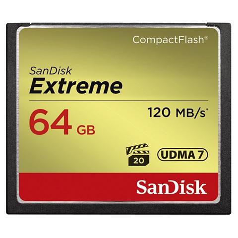 San Disk CF Extreme 64GB 120MB/s Lesen...