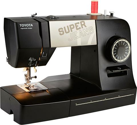 TOYOTA Freiarm-Nähmaschine Super Džinsai 17 X...