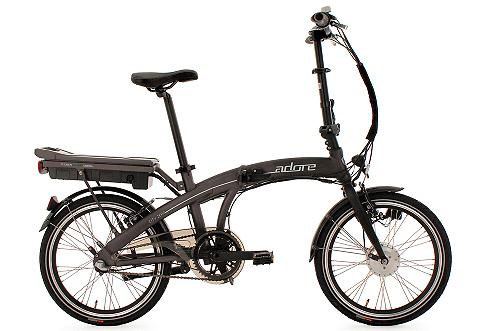 Falt dviratis 20 Zoll grau 3 Gang Shim...