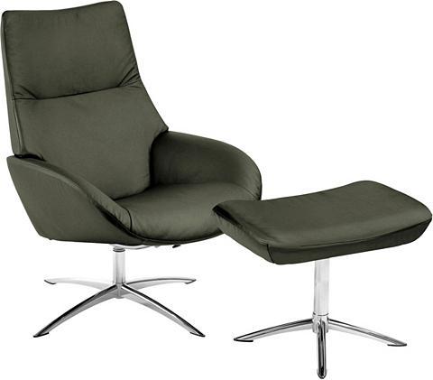 Rinkinys: Atpalaiduojanti kėdė su Kojų...