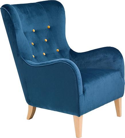® Fotelis su farbigen dekoratyvinės sa...