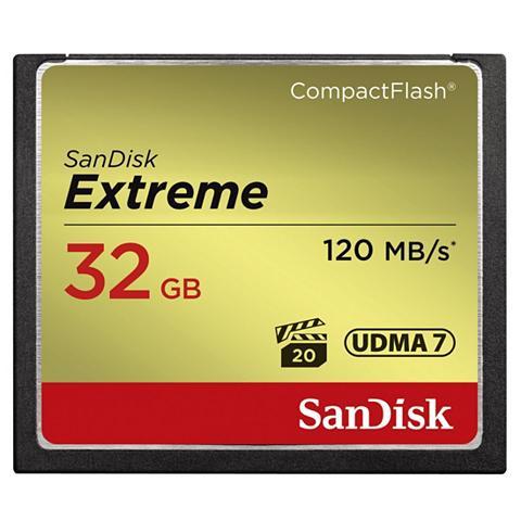 San Disk CF Extreme 32GB 120MB/s Lesen...