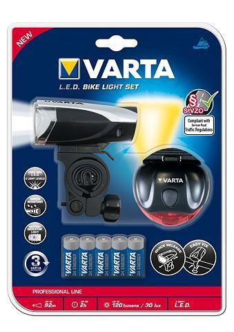 Fahrrad-Beleuchtungs-Set »LED dviratis...