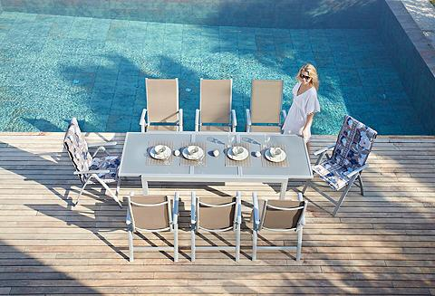 Sodo baldų komplektas »Amalfi« 9-tlg. ...