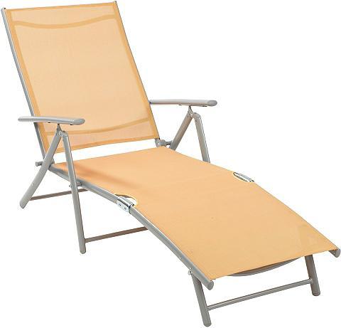 Sodo gultas Alu/Textil