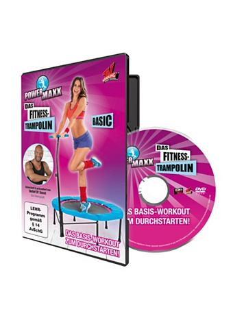 POWERMAXX Trampoline Treniruočių DVD dėl Anfänger Powermaxx...