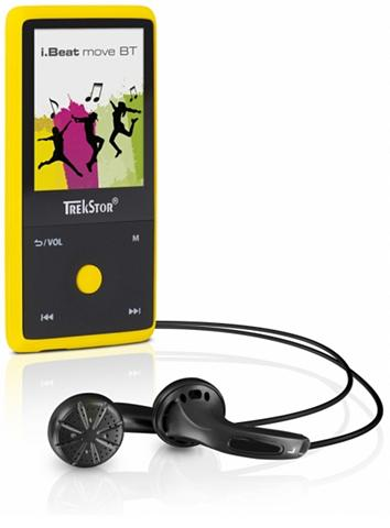 TREKSTOR MP3-Player »i.Beat move BT 8GB gelb«