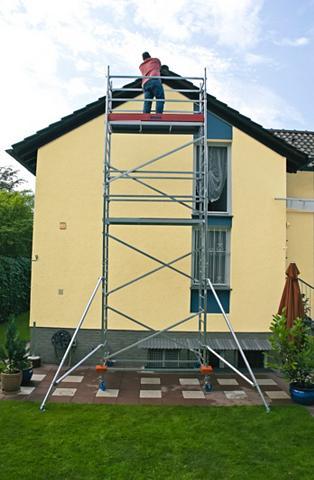Pastolinės kopėčios ant ratukų »Protec...