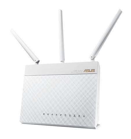 RT-AC68U White AC1900 Gigabit WLAN Rou...