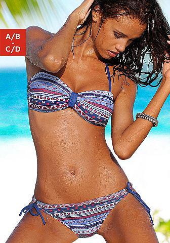 Paplūdimio bikini maudymosi kostiumėli...