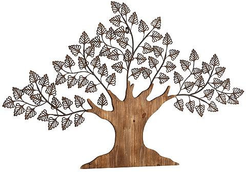 HOME AFFAIRE Sienos dekoracija »Baum« medžiagų deri...