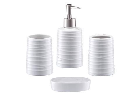 ZELLER Vonios priedų rinkinys »Aqua« 4 vienet...