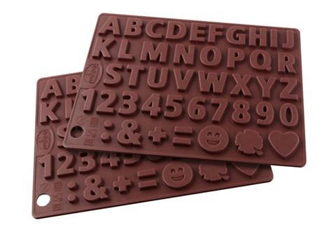Silikoninė šokolado forma »Buchstaben ...