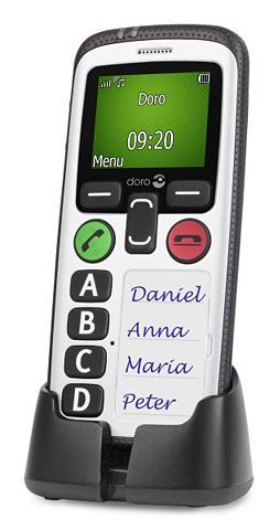Mobilusis telefonas »Secure 580 Schwar...