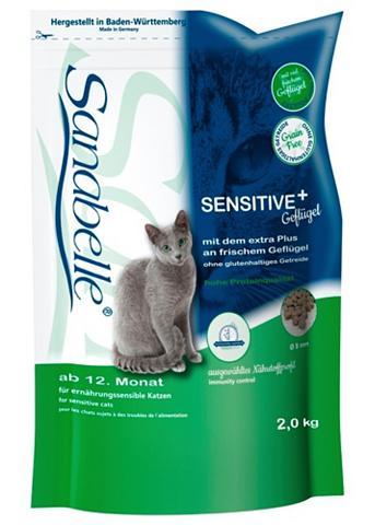 Katzentrockenfutter »Sensitive + Geflü...