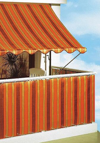 ANGERER FREIZEITMÖBEL Balkono sienelė »Polyethylen orange/br...