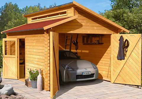 KARIBU Rinkinys: Vienvietis garažas automobil...