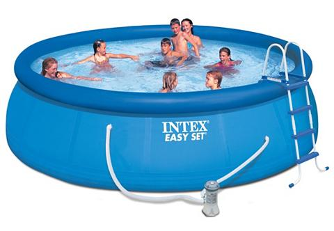 INTEX Baseinas »Easy rinkinys Pool-Kompletts...