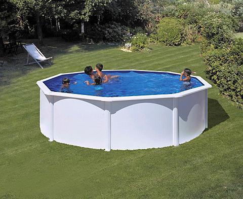 Apvalus baseinas »mit platus Turėklas ...