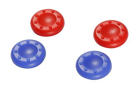 Stick Aufsätze control:caps (2x blau &...