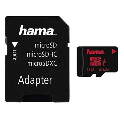 HAMA Atminties kortelė micro SDHC 32GB UHS ...