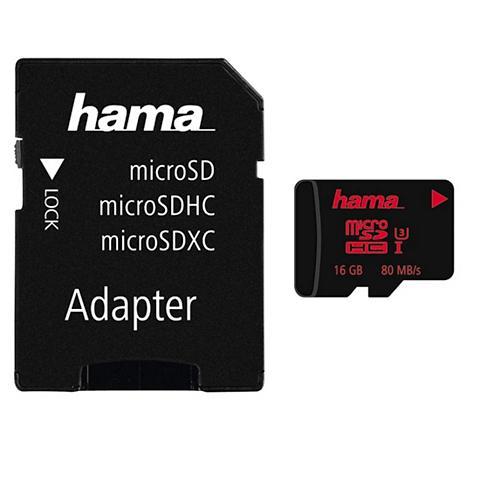 Speicherkarte micro SDHC 16GB UHS tren...