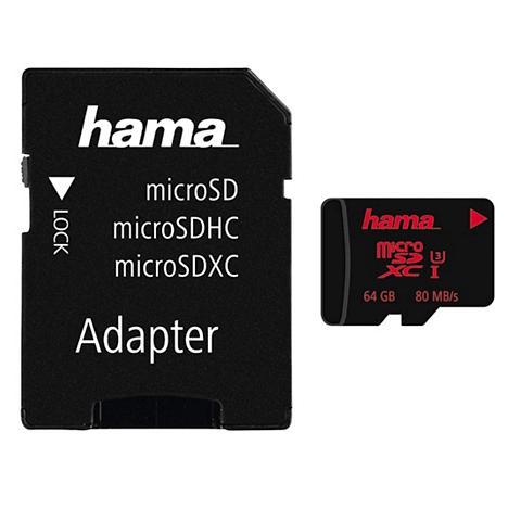 HAMA Atminties kortelė micro SDXC 64GB UHS ...