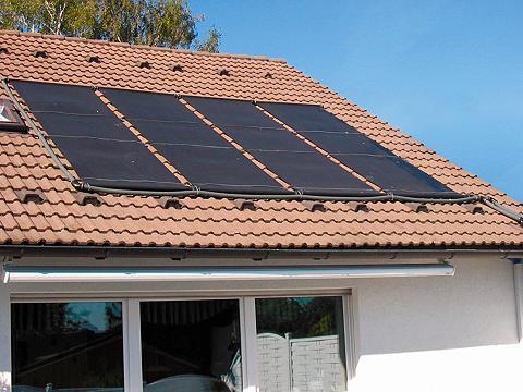 Saulės baterija »Solarabsorber-Set su ...