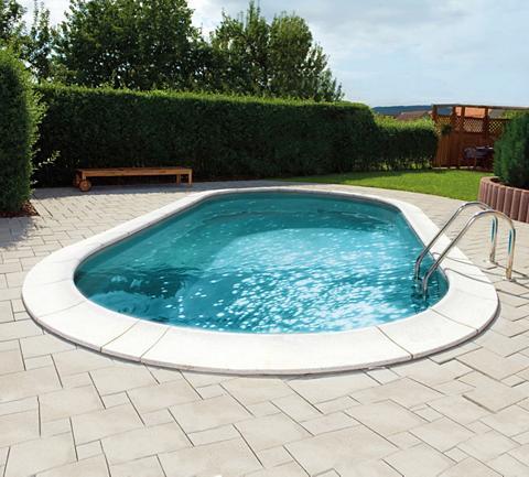 Rinkinys: ovalus baseinas »Premium gra...