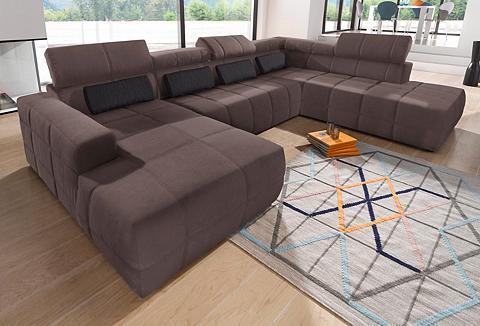 DOMO collection Sofa su Kopfteilverstellung patogi su ...