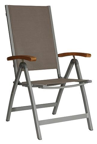 MERXX Poilsio kėdė »Monaco« Alu/Textil/Akazi...