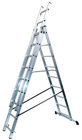 SZ metalas Aliumininės kopėčios »9 x 3...