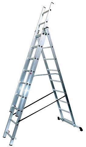 SZ METALL SZ metalas Aliumininės kopėčios »9 x 3...