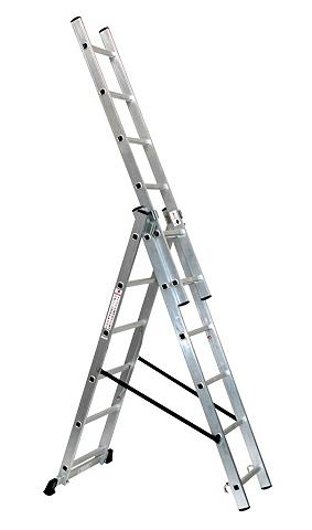 SZ metalas Aliumininės kopėčios »6 x 3...