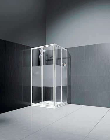Kampinės dušo durys »Sunny« 80 cm x 80...