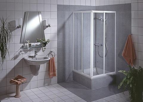 Kampinės dušo durys »Sunny« 90 cm x 90...