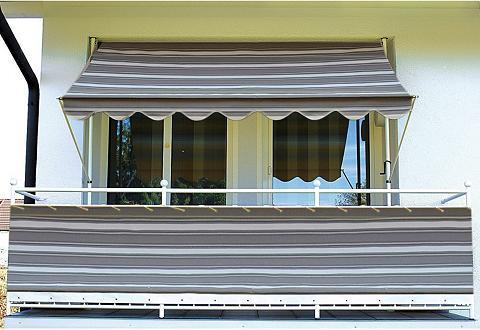 Balkono sienelė »Polyacryl anthrazit« ...