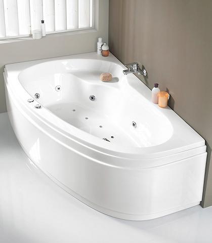 Kampinė vonia »Loredana« B/T/H in cm: ...