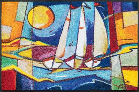 WASH+DRY BY KLEEN-TEX Durų kilimėlis »sailing home« wash+dry...