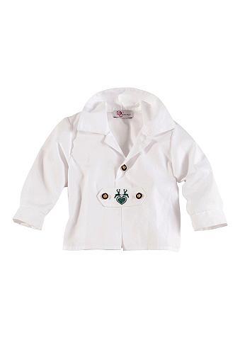 Baby tautinio stiliaus marškiniai su a...