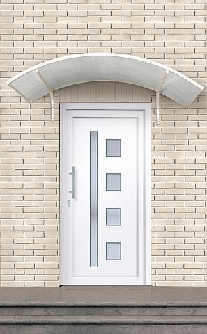 Plastikinės lauko durys »Luxemburg«