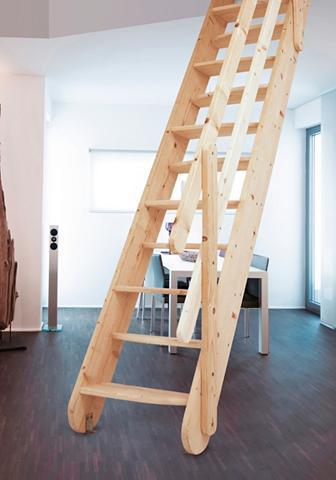 STARWOOD Kompaktiški laiptai »Samos« B: 60 cm F...