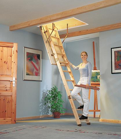 DOLLE Palėpės laiptai »Kompakt« 120/60 cm