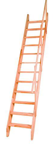 STARWOOD Kompaktiški laiptai »Olymp« B: 60 cm B...