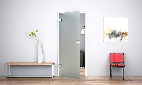 Stiklinės vidaus durys »Satiniert« (be...