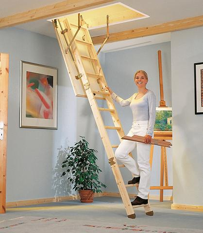 DOLLE Palėpės laiptai »Kompakt« 130/70 cm