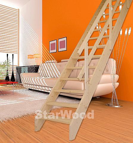 Kompaktiški laiptai »Korfu« offene kel...